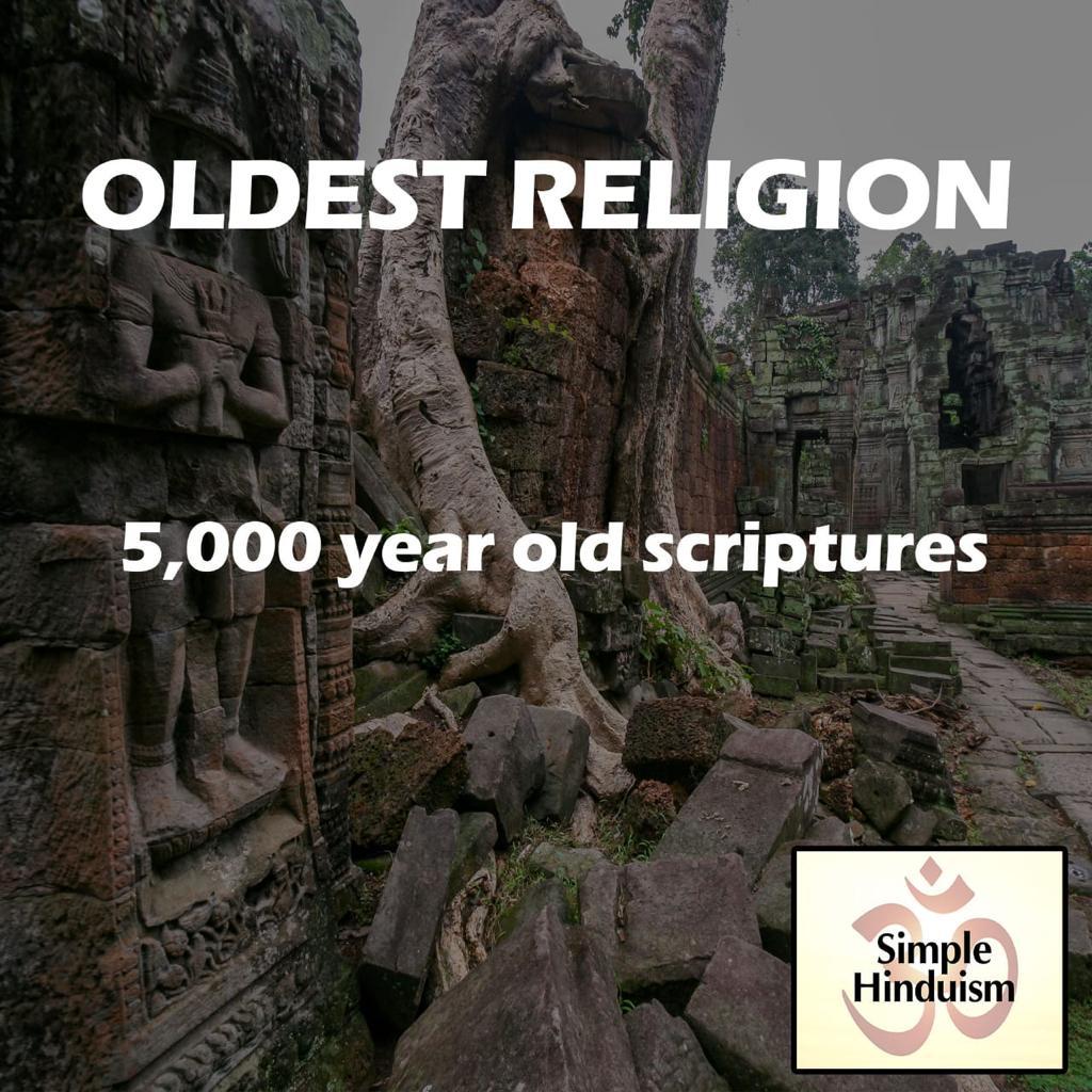 oldest religion hindu