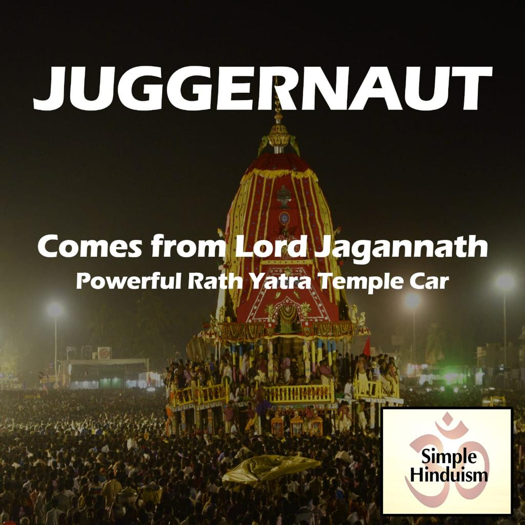 juggernaut in hindu culture