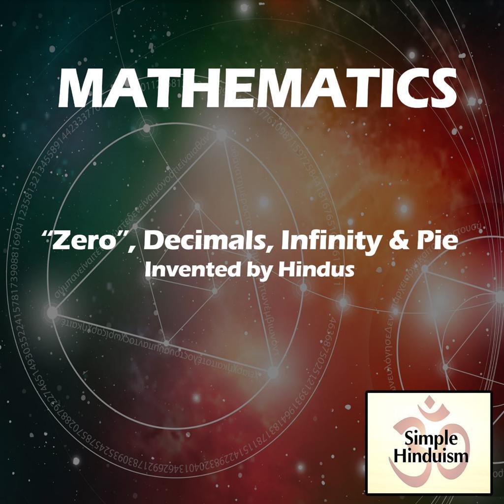 Hinduism fact mathematics