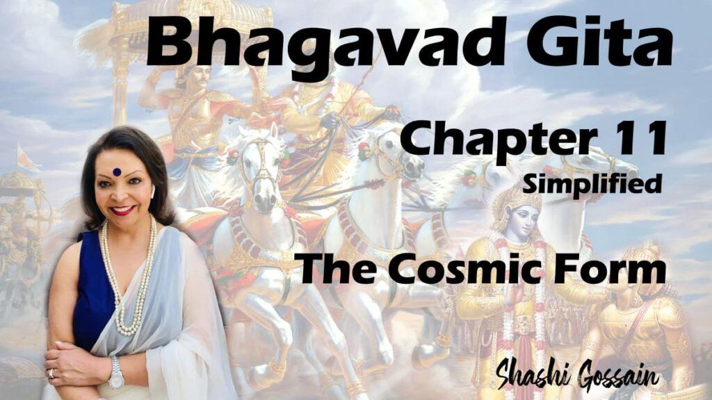 Bhagavad Gita Chapter 11: The Cosmic Form