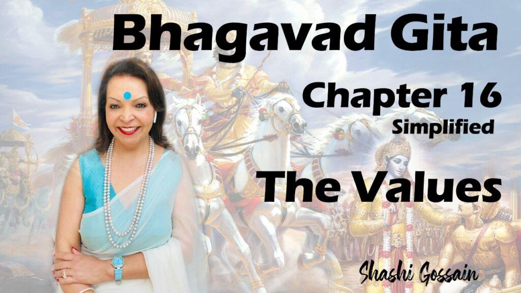 Dispositions- bhagvad gita part 16