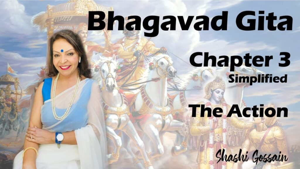 Bhagavad Gita Chapter 3: The Action
