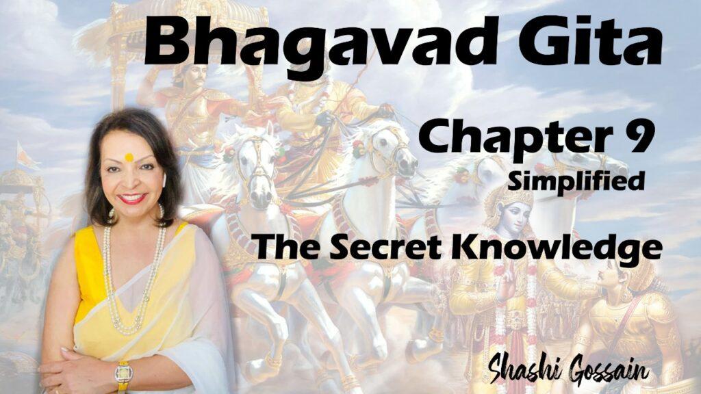Bhagavad Gita Chapter 9: The Secret Knowledge