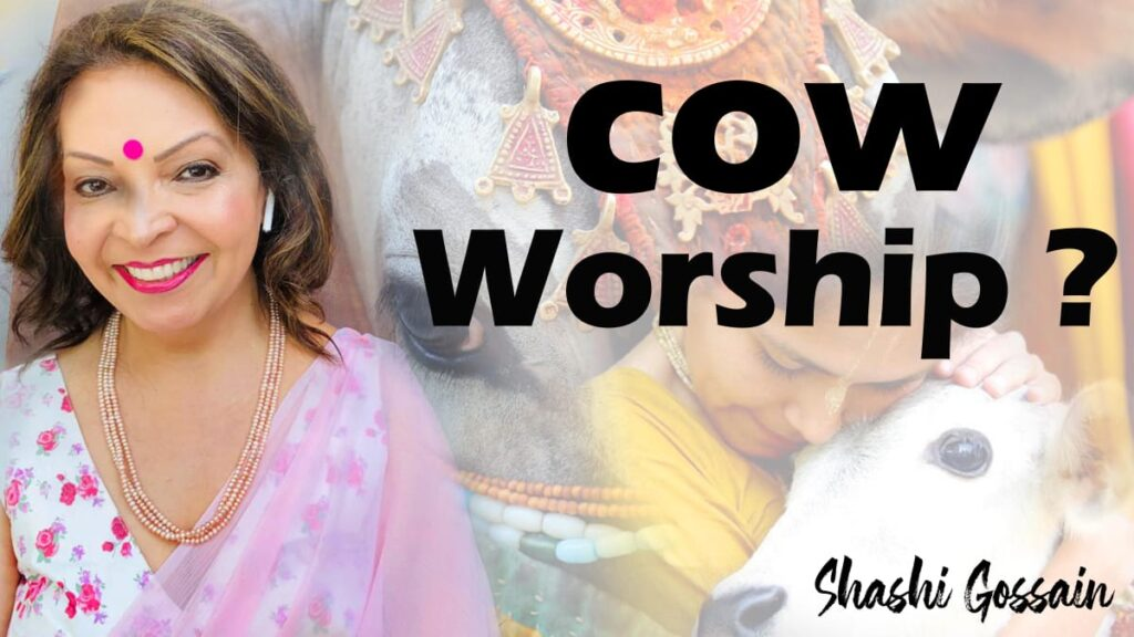 cow worship in india