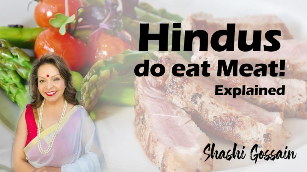 Are Hindus forbidden to eat meat?